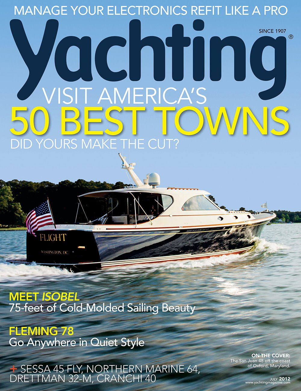 SanJuan48 Featured On The Cover of YACHTING - News - San